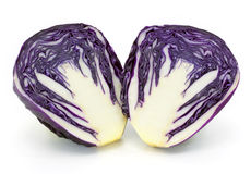 Fresh red cabbage vegetable Stock Photography