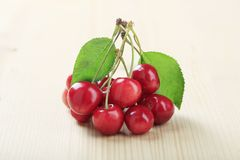 Free Fresh Red Cherries Royalty Free Stock Images - 19012199
