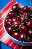 Fresh red cherries. Stock Image