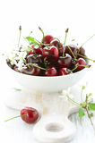 Fresh red cherry Stock Photos