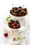 Fresh red cherry Royalty Free Stock Image