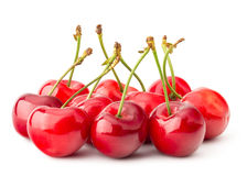 Fresh Red Cherry Stock Photography