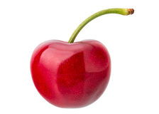 Fresh Red Cherry Stock Images