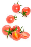 Fresh red cherry tomatoes Stock Photography