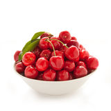 Fresh red cherry Royalty Free Stock Photography