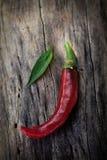 Fresh red chili pepper Stock Photo