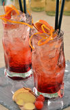 Fresh red cocktail. Stock Photography