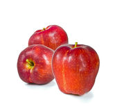 Fresh red delicious apples Royalty Free Stock Photography