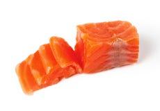 Fresh red fish. Salmon Stock Photo
