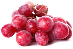 Fresh red grape Stock Photo