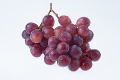 Fresh red grape Stock Photos