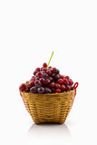 Fresh Red Grape. Royalty Free Stock Image