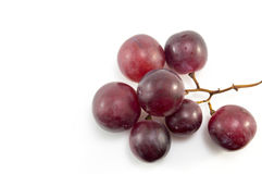 Fresh red grape isolated Royalty Free Stock Photo