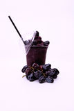 Fresh red grape juice. Healthy Royalty Free Stock Images
