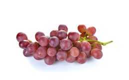 Fresh red grape on white background. Fresh red grape on a white background Stock Images