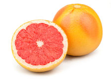 Fresh Red Grapefruit Royalty Free Stock Photography