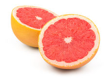 Fresh Red Grapefruit Stock Images