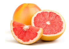 Fresh Red Grapefruit Royalty Free Stock Photos