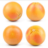 Fresh Red Grapefruit Stock Photo