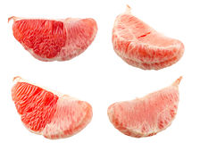 Fresh Red Grapefruit Royalty Free Stock Images