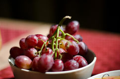 Fresh red grapes Royalty Free Stock Photo