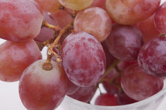 Fresh red grapes Royalty Free Stock Photography