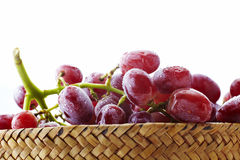 Fresh red grapes, seedless Stock Image