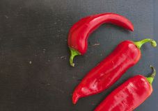 Fresh red hot chill pepper. Royalty Free Stock Photography