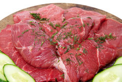 Fresh red meat Royalty Free Stock Photography