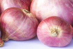 Fresh Red Onions Royalty Free Stock Photography