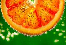 Fresh red orange Royalty Free Stock Photos