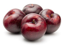 Fresh Red Plum Stock Images
