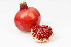 Fresh red pomegranate fruit Stock Photography