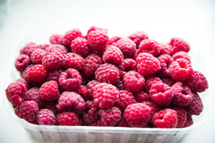 Fresh red raspberries Royalty Free Stock Photography