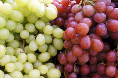 Fresh Red and Red Grape Royalty Free Stock Photos
