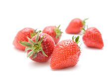 Fresh red ripe strawberries Stock Photo