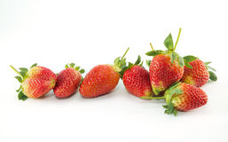 Fresh red ripe strawberries. Royalty Free Stock Photography