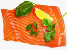Fresh red salmon fish Royalty Free Stock Photography