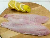 Fresh red snapper filets royalty free stock photo