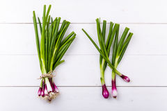 how to use red spring onions