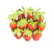 Fresh red strawberries Stock Photo