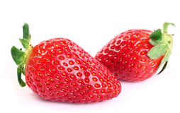 Fresh red strawberries Stock Photo