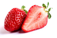 Fresh red strawberries Stock Image