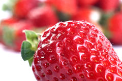 Fresh red strawberries Royalty Free Stock Photos
