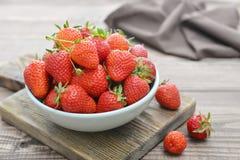 Fresh red strawberries Royalty Free Stock Photo