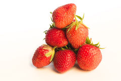 Fresh red strawberries Royalty Free Stock Photography