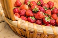 Fresh red strawberries Stock Photos