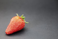 Fresh red strawberry Stock Photos