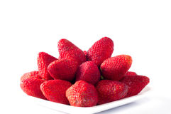 Fresh red strawberry Stock Photo