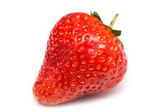 Fresh Red Strawberry Isolated Stock Images